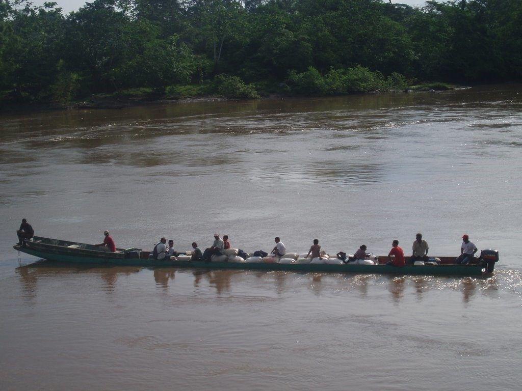 Navegando el rio Coco