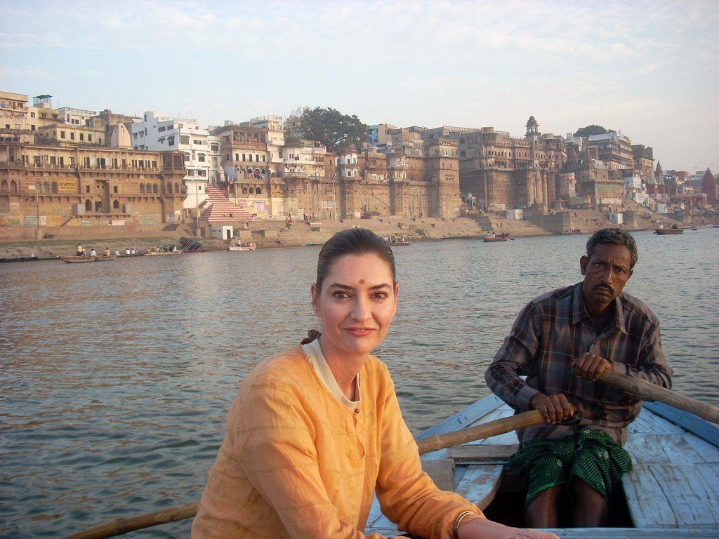turismo en el rio Ganges