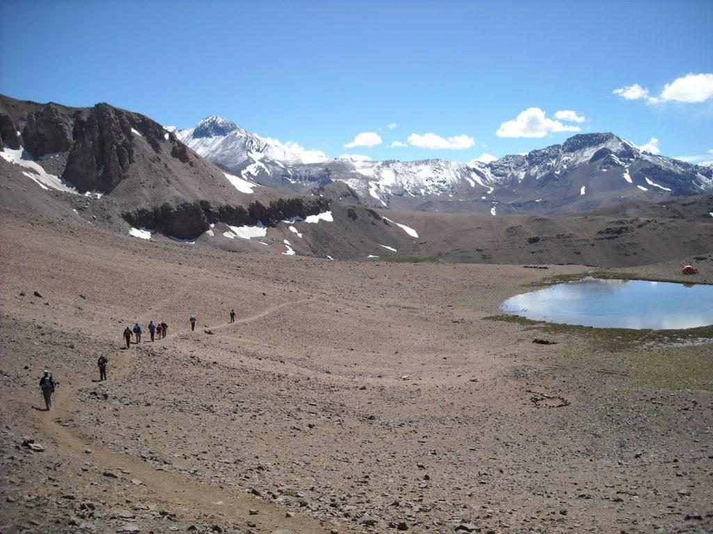 Cerro El Plomo. Chile