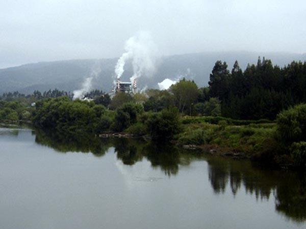 Contaminación del río