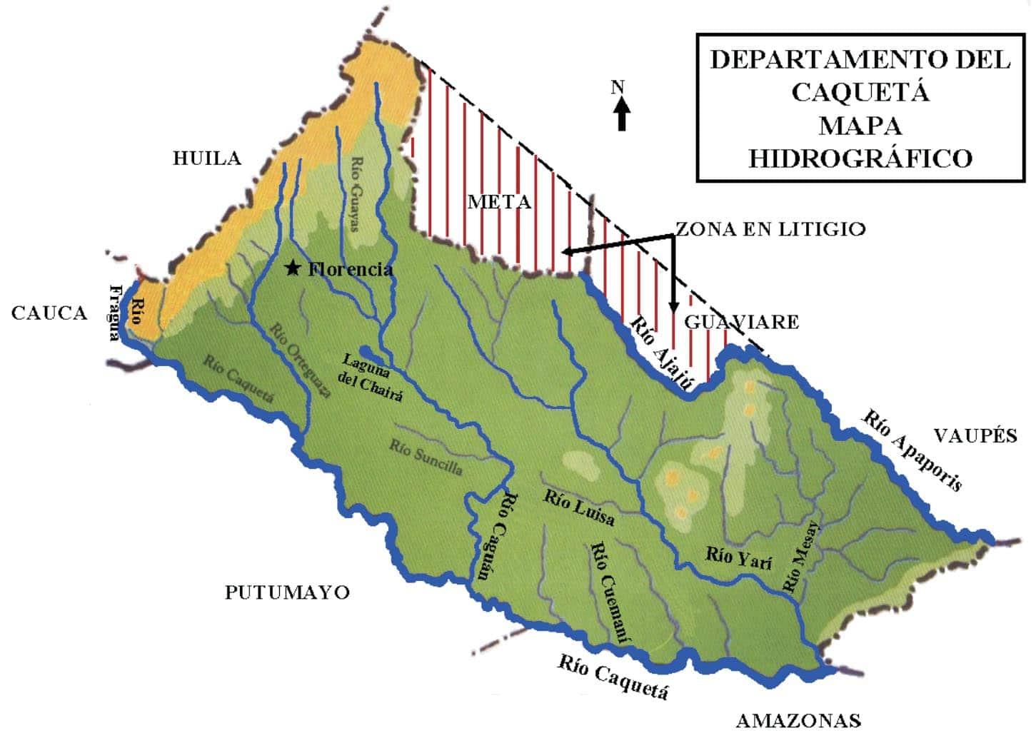 mapa apaporis