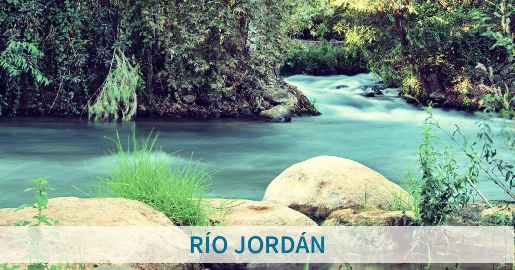 importancia del rio jordan
