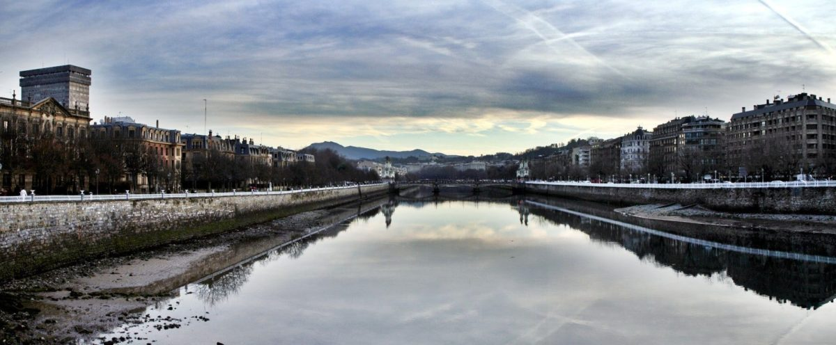 vista del rio urumea