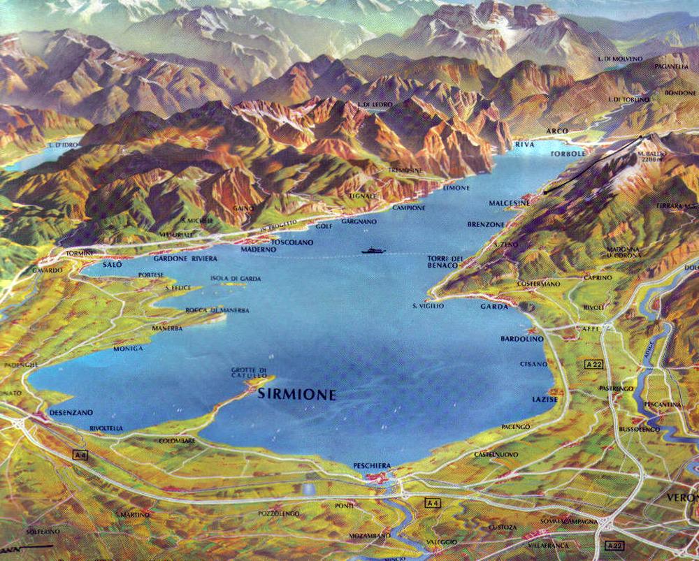 Conoce El Lago Di Garda Uno De Los Mas Grandes De Italia